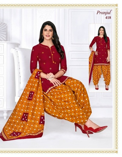 Authorized PRANJUL PRIYANKA VOL 4 Wholesale  Dealer & Supplier from Surat
