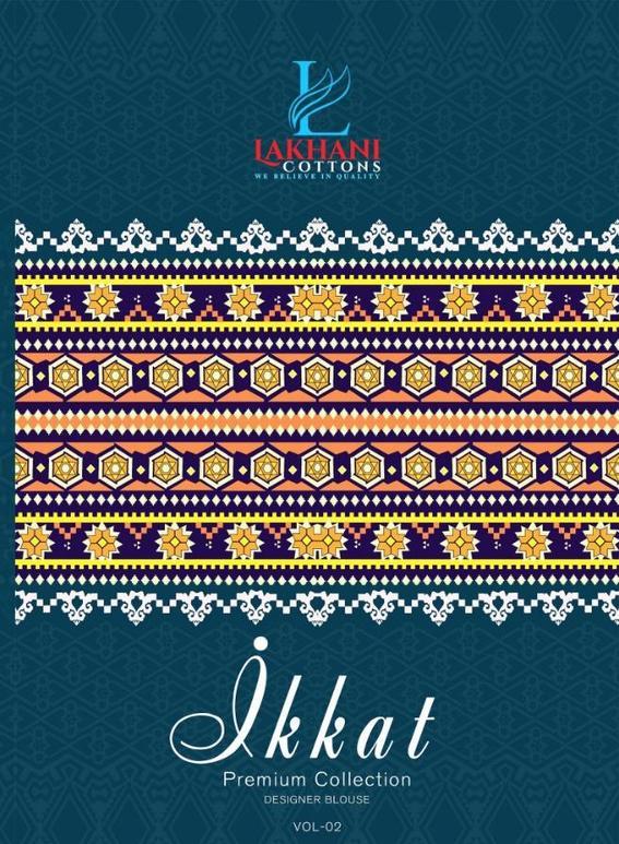 Lakhani Ikkat Saree Vol 2
