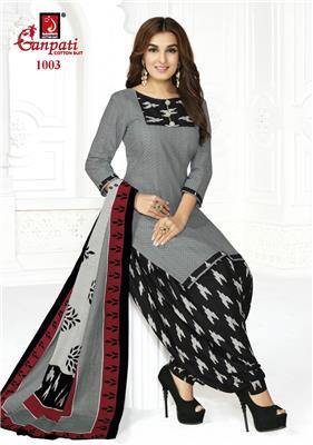 Ganpati Rangoli Stitched Vol 10 - 1003