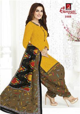 Ganpati Rangoli Stitched Vol 10 - 1008