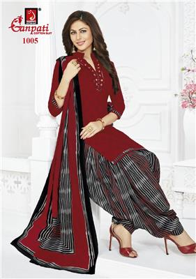 Ganpati Rangoli Stitched Vol 10 - 1005