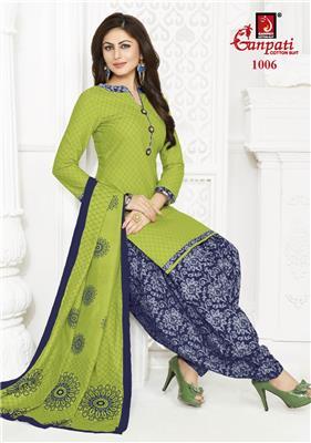 Ganpati Rangoli Stitched Vol 10 - 1006