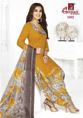 Ganpati Rangoli Stitched Vol 10 - 1002