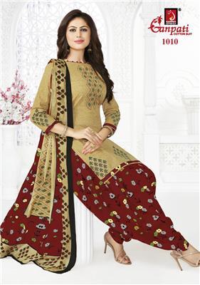 Ganpati Rangoli Stitched Vol 10 - 1010