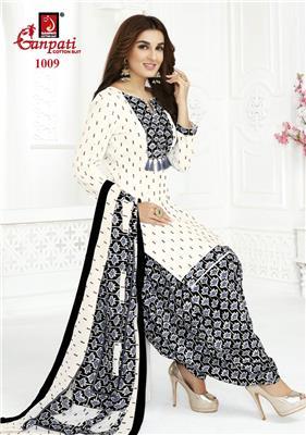 Ganpati Rangoli Stitched Vol 10 - 1009
