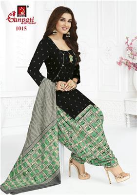 Ganpati Rangoli Stitched Vol 10 - 1015