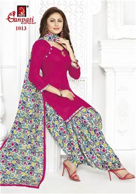 Ganpati Rangoli Stitched Vol 10 - 1013