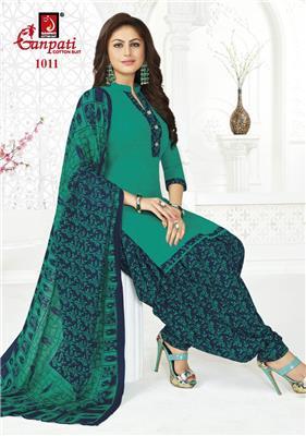 Ganpati Rangoli Stitched Vol 10 - 1011