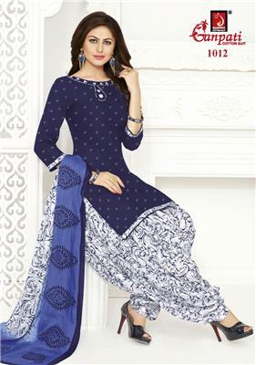 Ganpati Rangoli Stitched Vol 10 - 1012