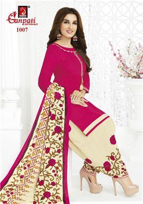 Ganpati Rangoli Stitched Vol 10 - 1007