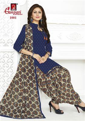 Ganpati Rangoli Stitched Vol 10 - 1001