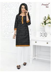 Wholesale Pranjul Pankhuri Kurti Fabrics