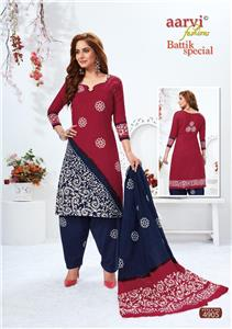 Aarvi Battik Special Stitched Vol 13