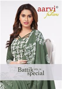 Aarvi Battik Special Stitched Vol 14
