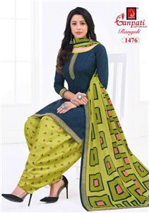 Ganpati Rangoli Stitched Vol 14
