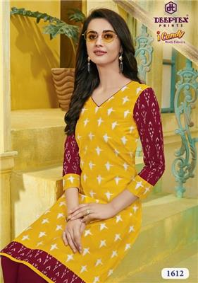 DEEPTEX I CANDY VOL 16 Unstitched Kurtis Wholesaler