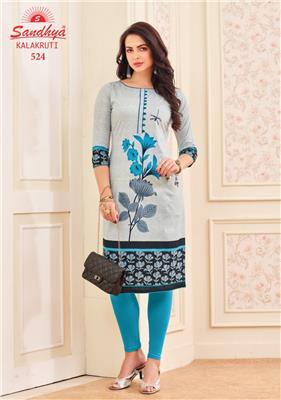 SANDHYA KALAKRUTI VOL 16 UNSTITCHED WHOLESALE KURTIS